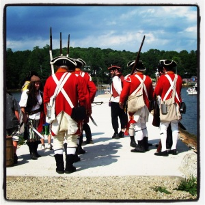 King's Orange Rangers in Mahone Bay's Pirate Day & Regatta