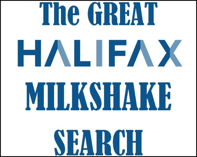 Great Halifax Milkshake Search